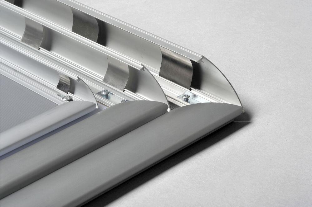 SNÄPPRAM ALUMINIUM 50x70 cm (PROFIL 38 mm)