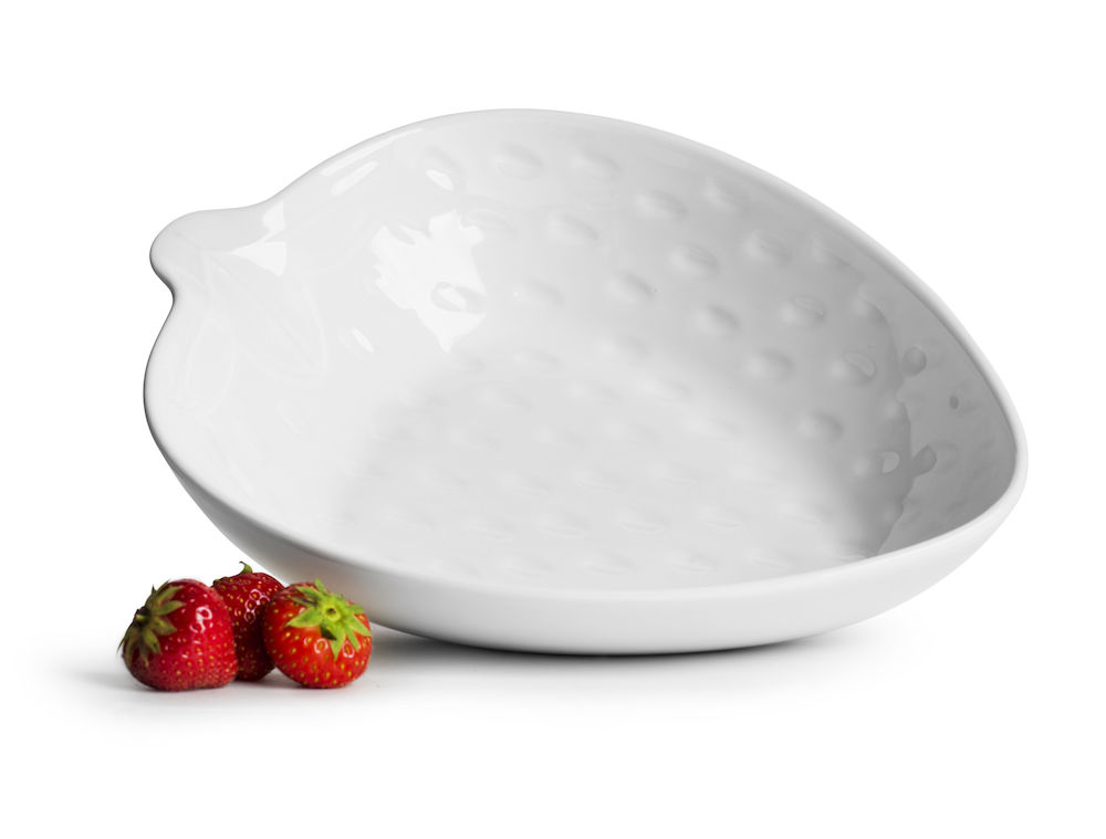 Strawberry serveringsskål