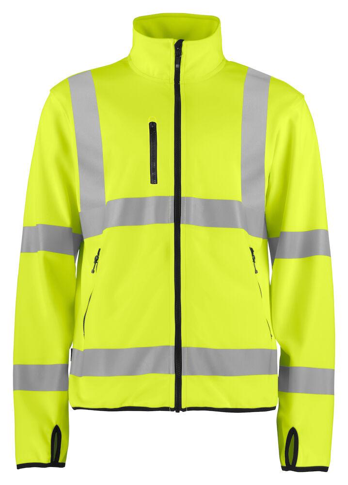 97cce7ee 6105 SOFTSHELL JACKET LITE EN ISO 20471 CLASS 3 | Projob Workwear AB