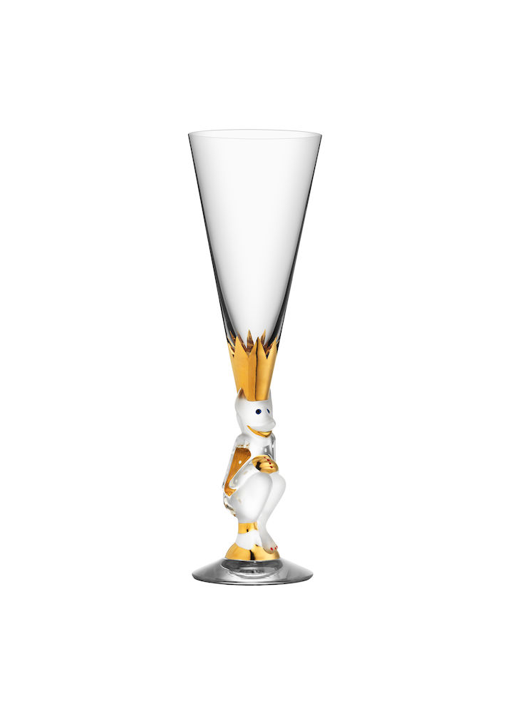 THE SPARKLING DEVIL 19 CL CLEAR GLASS