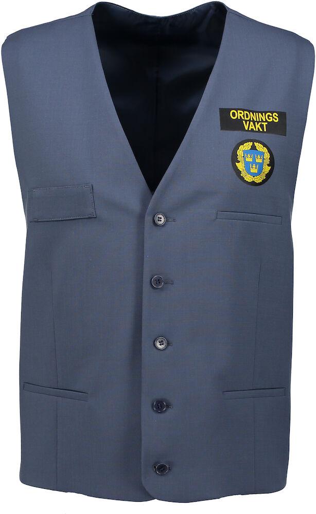 Tailored Security. Herr. Väst. Delta. Regular fit