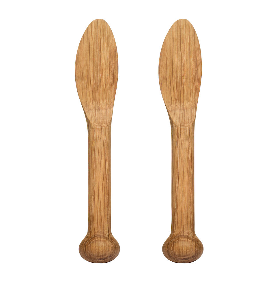 Nature smörkniv, 2-pack