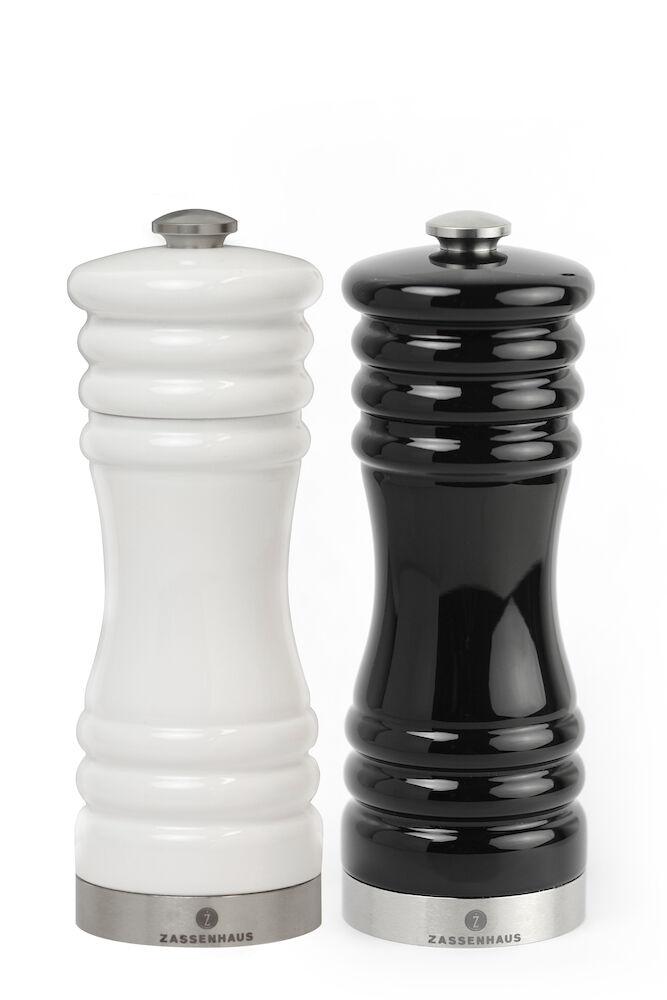 Munchen kvarnset 15cm svart&vit