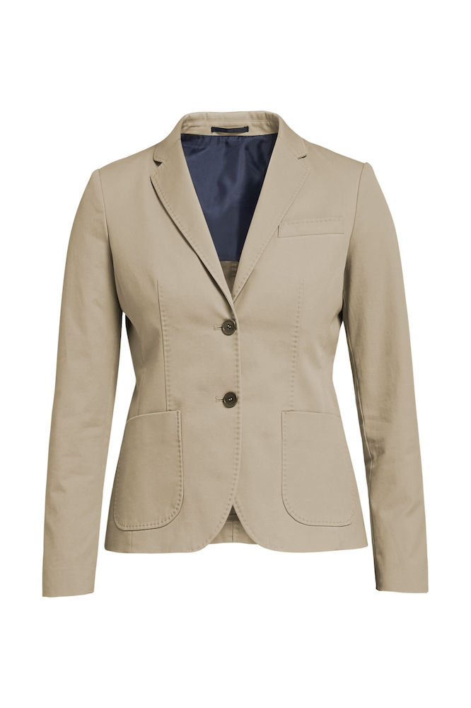 Cotton, Dam, Blazer, Olivia Tailored fit