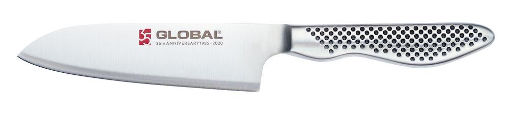 Global 35-års jubileumskniv Santoku, 13 cm