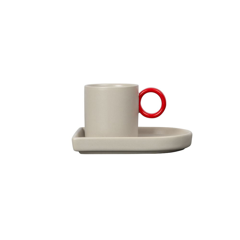 Espresso cup and plate Niki