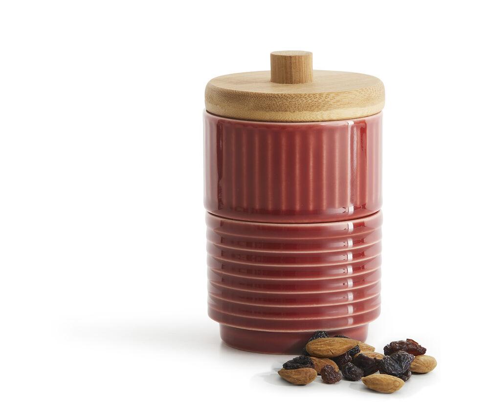 Coffee & More liten skål 2-pack, röd