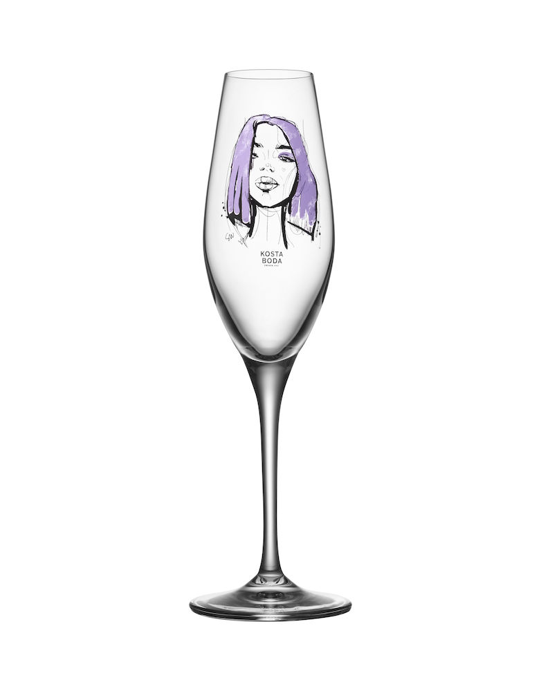 Forever Mine Champagneglas 2-pack