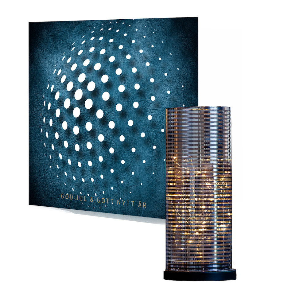Julklappskortet 360 med medgåva Lampa LED