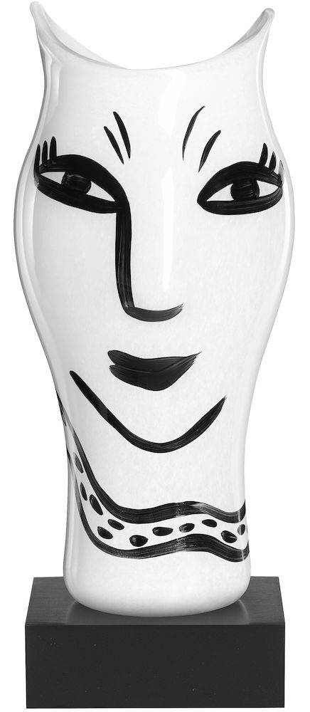 OPEN MINDS WHITE VASE H 360MM