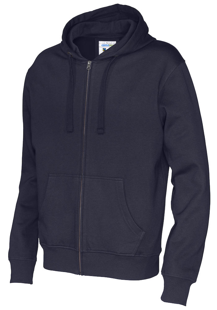 Full Zip Hood Man