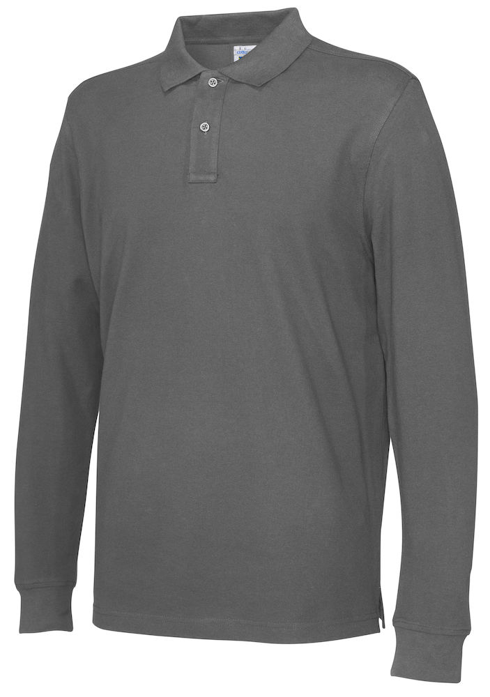 Pique Long Sleeve Man