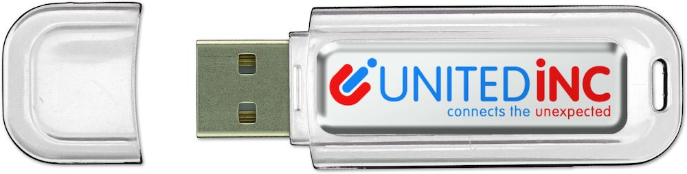 USB-minne Logotop 8GB