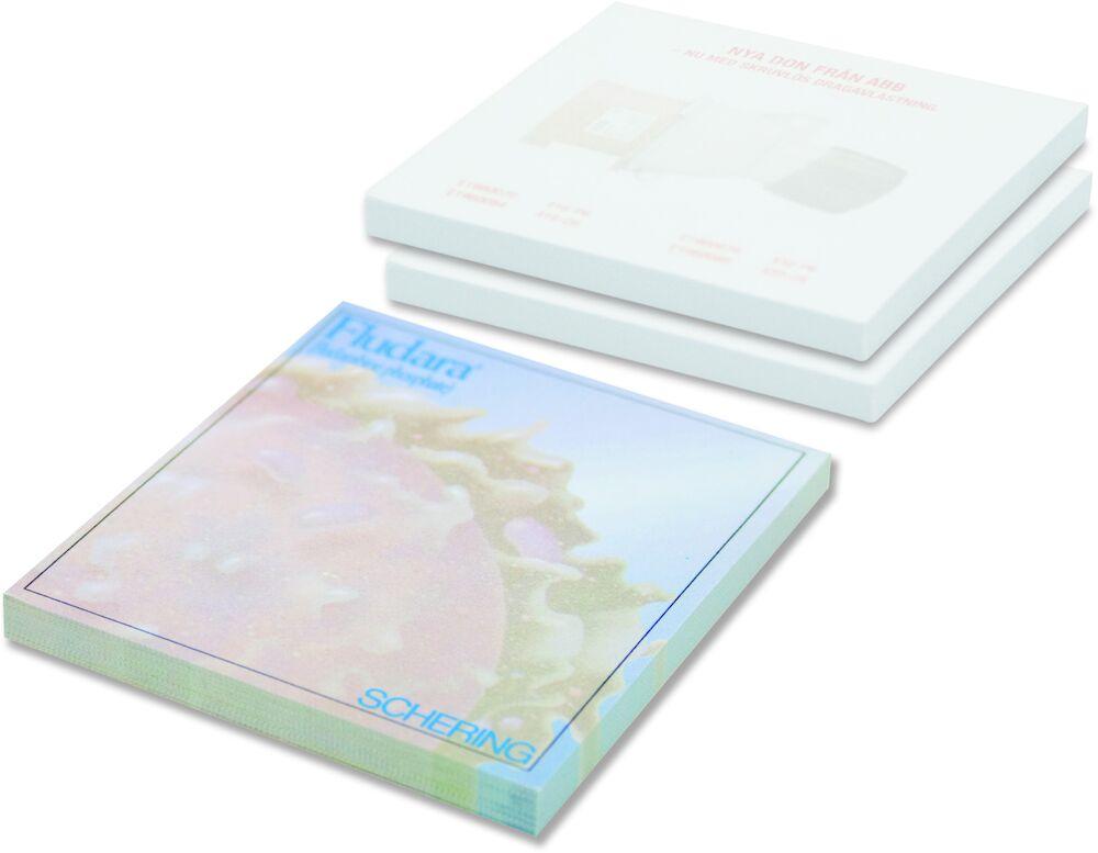 Notisblock 100 blad fullfärg