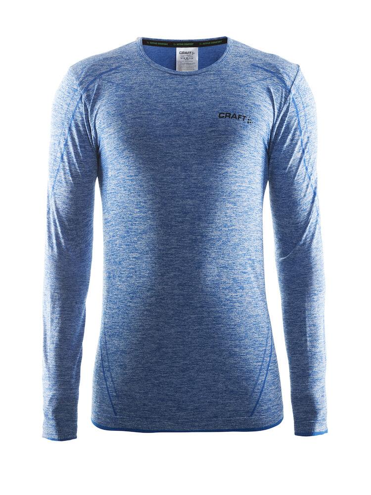 Craft COMFORT ZIP - T-shirt à manches longues - dark blue ZGzhZOf