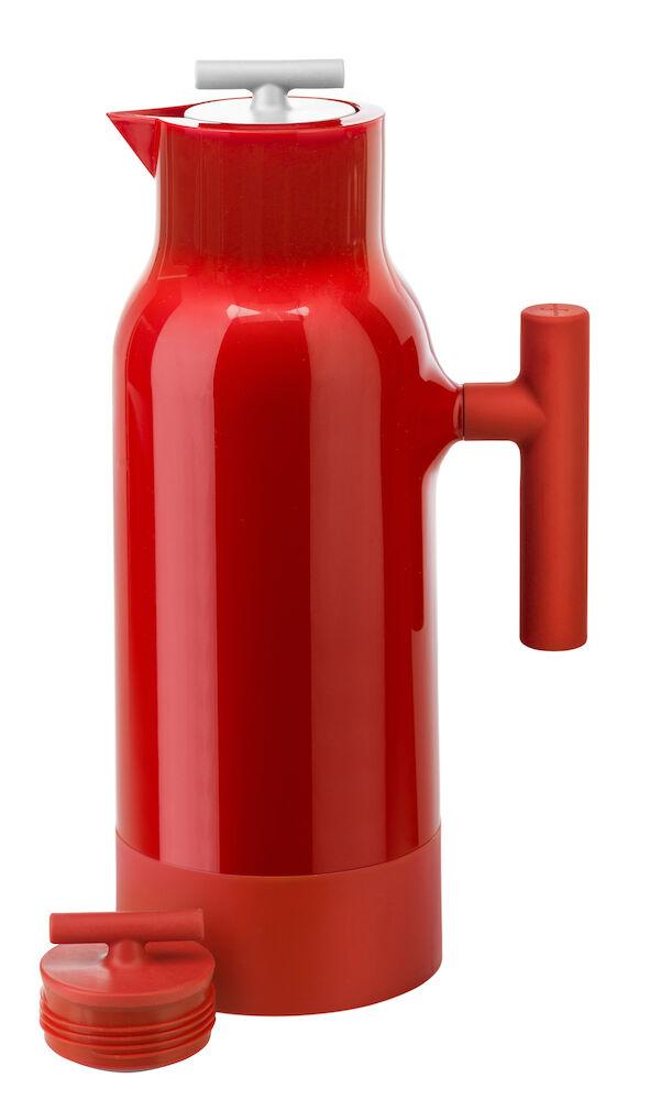 Accent kaffekanna, röd