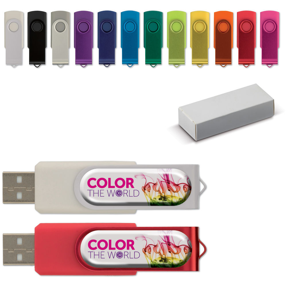 USB Twister med doming 4GB